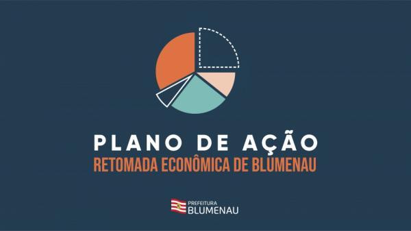 Prefeitura apresenta plano de ação para retomada econômica em Blumenau