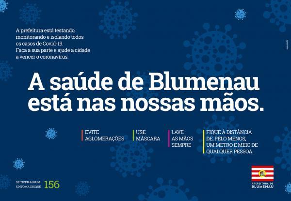 A Saúde de Blumenau está nas nossas mãos